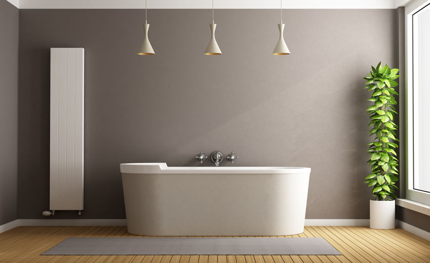 szabadon álló fürdőkád